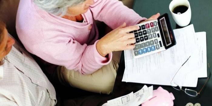 Как вычислить пенсию калькулятор как посмотреть пенсионные баллы в пенсионный фонд
